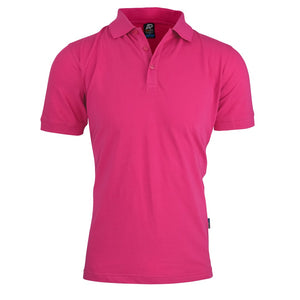 The Claremont Polo | Mens | Short Sleeve | Pink