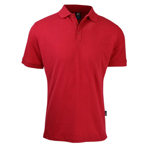 The Claremont Polo | Mens | Short Sleeve | Red