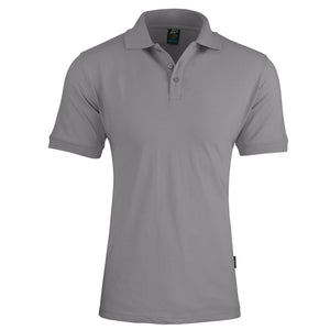 The Claremont Polo | Mens | Short Sleeve | Silver