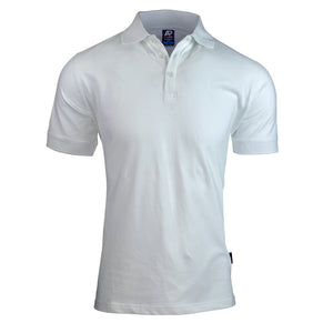 The Claremont Polo | Mens | Short Sleeve | White