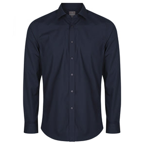 The Nicholson Shirt | Mens | Slim Fit | Long Sleeve | Navy