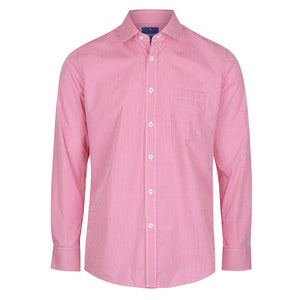 The Westgarth Shirt | Mens | Long Sleeve | Crimson