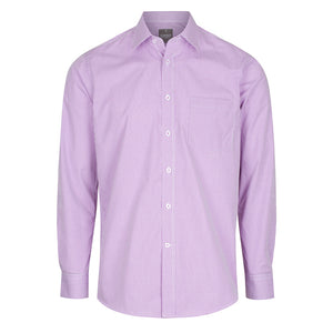 The Westgarth Shirt | Mens | Long Sleeve | Lilac