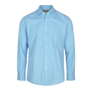 The Westgarth Shirt | Mens | Long Sleeve | Teal