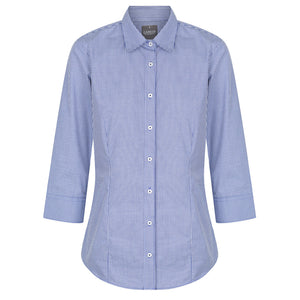 The Westgarth Shirt | Ladies | 3/4 Sleeve | Navy