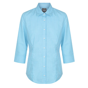 The Westgarth Shirt | Ladies | 3/4 Sleeve | Teal