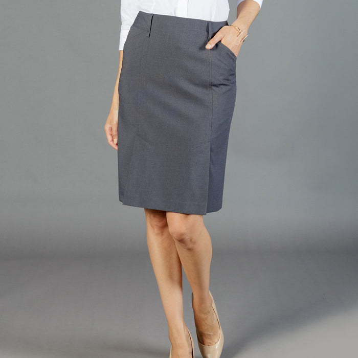 The Elliot Box Pleat Skirt | Ladies