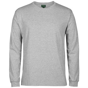 The Rib Crew Neck Tee | Mens | Long Sleeve | 13 Marle