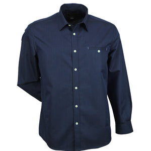 The Empire Shirt | Mens | Long Sleeve | Navy/Sky