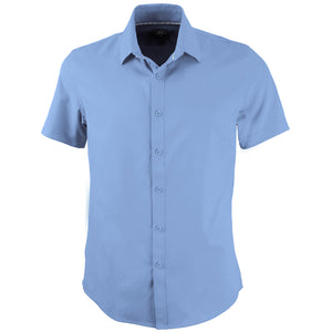 The Candidate Shirt | Mens | Short Sleeve | Sky