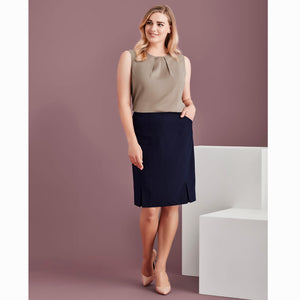 The Siena Pleat Skirt | Ladies