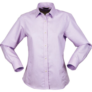 The Empire Shirt | Ladies | Long Sleeve | Mauve/Mauve