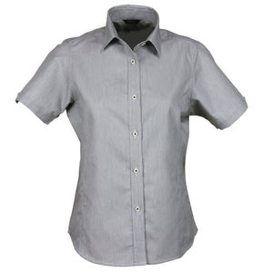 The Empire Shirt | Ladies | Short Sleeve | Grey/Charcoal