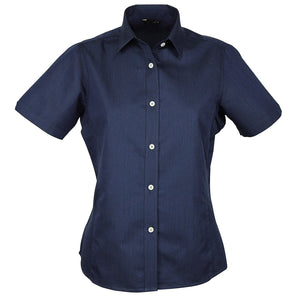 The Empire Shirt | Ladies | Short Sleeve | Navy/Sky