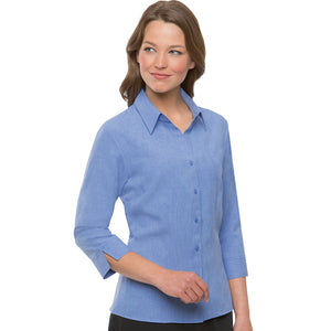 The Ezylin | Ladies | 3/4 Sleeve | Blue