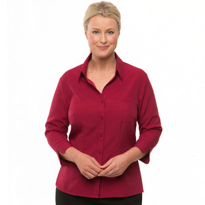 The Ezylin | Ladies | 3/4 Sleeve | Red
