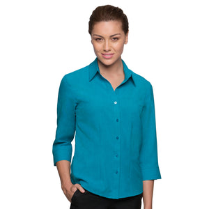 The Ezylin | Ladies | 3/4 Sleeve | Teal