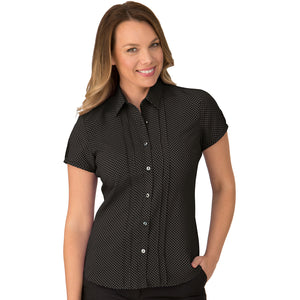 The Spot Shirt | Ladies | Short Sleeve | Black