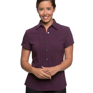 The Spot Shirt | Ladies | Short Sleeve | Grape