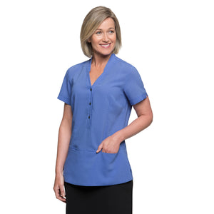 The Spot Tunic | Ladies | Short Sleeve | Blue