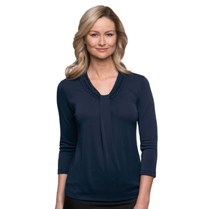 The Pippa Knit | Ladies | 3/4 Sleeve | Navy