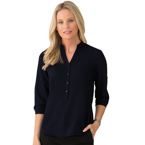 The So Ezy Shirt | Ladies | 3/4 Sleeve | Navy