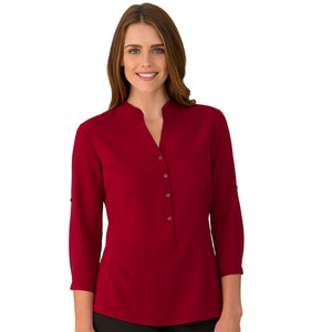 The So Ezy Shirt | Ladies | 3/4 Sleeve | Red