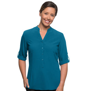 The So Ezy Shirt | Ladies | 3/4 Sleeve | Teal