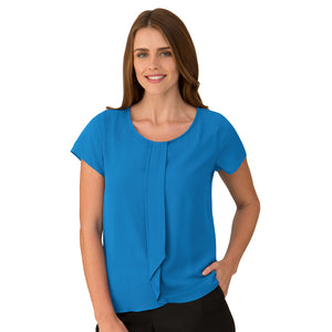 The Cascade | Ladies | Short Sleeve | Aqua
