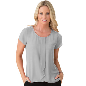 The Cascade | Ladies | Short Sleeve | Silver