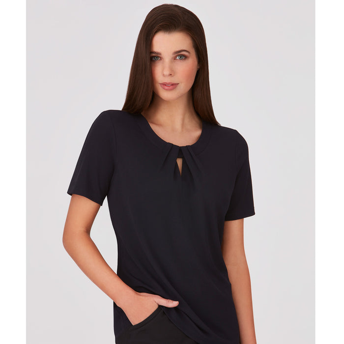 The Keyhole Top | Ladies | Short Sleeve