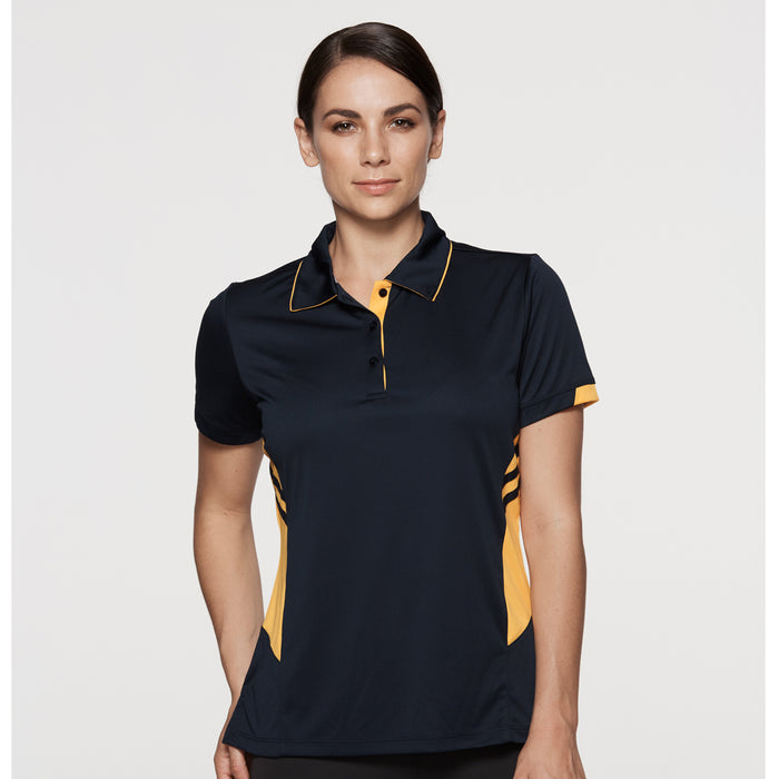 The Tasman Polo | Ladies | Short Sleeve | Navy Base
