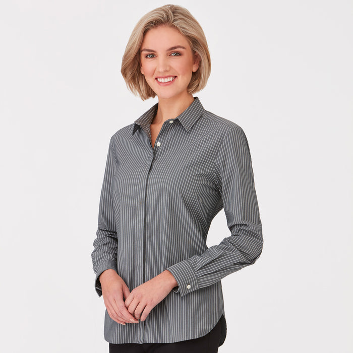 The CC Stripe Shirt | Ladies | Long Sleeve