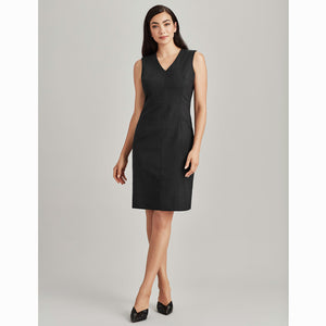 The Cool Wool Dress | Ladies | V Neck