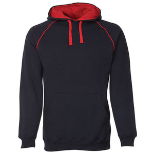 The Contrast Hoodie | Mens | Navy/Red
