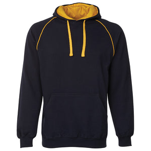 The Contrast Hoodie | Mens | Navy/Gold
