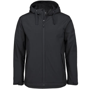 The Hooded Softshell Jacket | Adults | Black