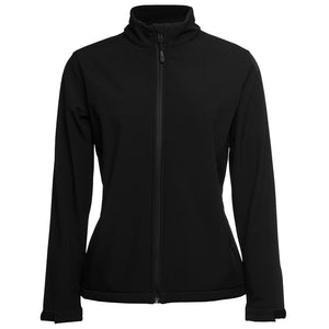 The Contrast Softshell Jacket | Ladies | Black