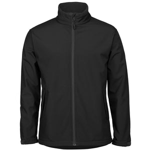 The Contrast Softshell Jacket | Mens | Black/Charcoal