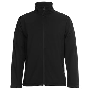 The Contrast Softshell Jacket | Mens | Black