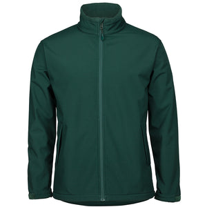 The Contrast Softshell Jacket | Mens | Forest
