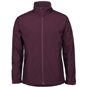 The Contrast Softshell Jacket | Mens | Maroon