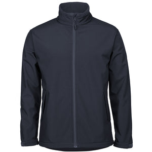 The Contrast Softshell Jacket | Mens | Navy