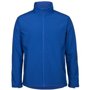 The Contrast Softshell Jacket | Mens | Royal