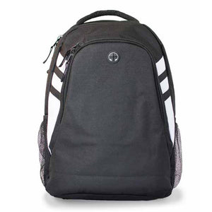 The Tasman Backpack | Black/White