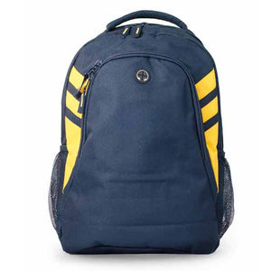 The Tasman Backpack | Navy/Gold