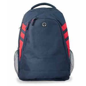 The Tasman Backpack | Navy/Red