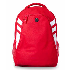 The Tasman Backpack | Red/White