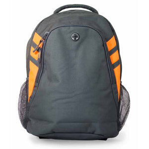 The Tasman Backpack | Slate/Neon Orange
