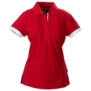 The Antreville Polo | Ladies | Red
